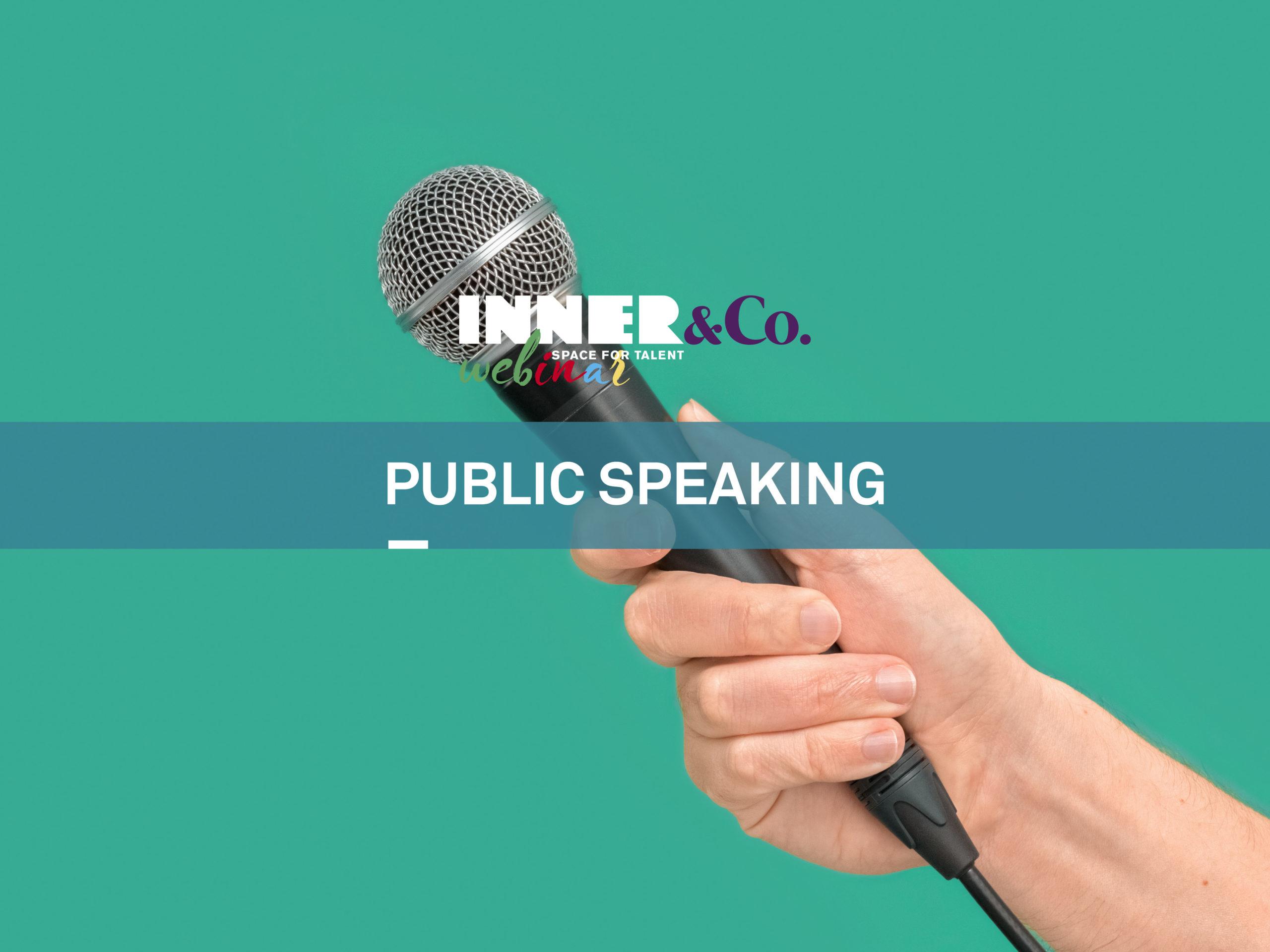public speaking webinar gratuito
